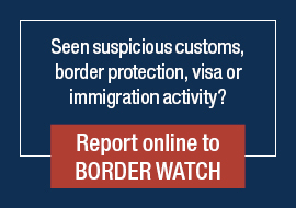 Report online to border watch